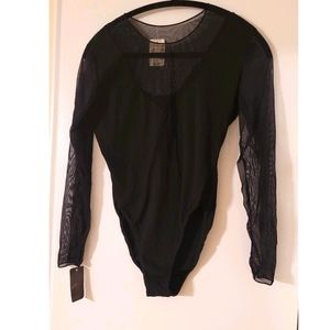 Rare Natori Bodysuit in black